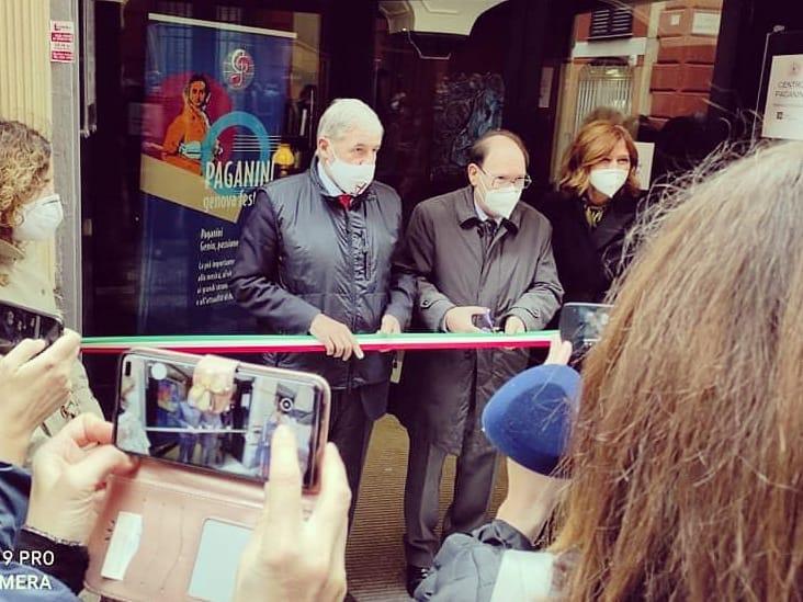 Inaugurazione del Centro Paganini