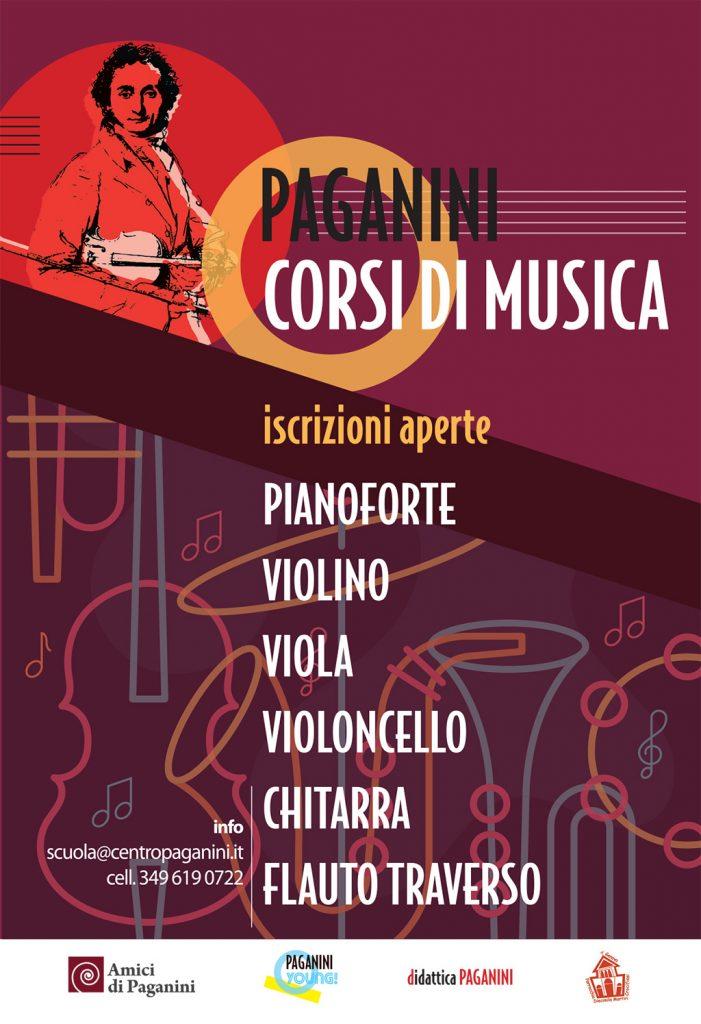Centro Paganini - Corsi di musica - Locandina